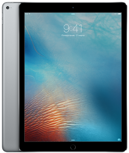 "Планшет Apple iPad Pro 12.9"" Wi-Fi + 4G (Cellular) 128GB Space Gray (черный)"