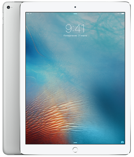 "Планшет Apple iPad Pro 12.9"" Wi-Fi + 4G (Cellular) 128GB Silver (Серебристый)"