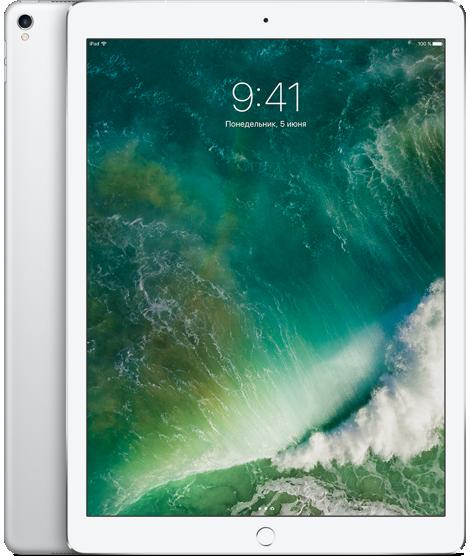 "Планшет Apple iPad Pro 12.9"" Wi-Fi + 4G (Cellular) 64GB Silver (серебристый)"