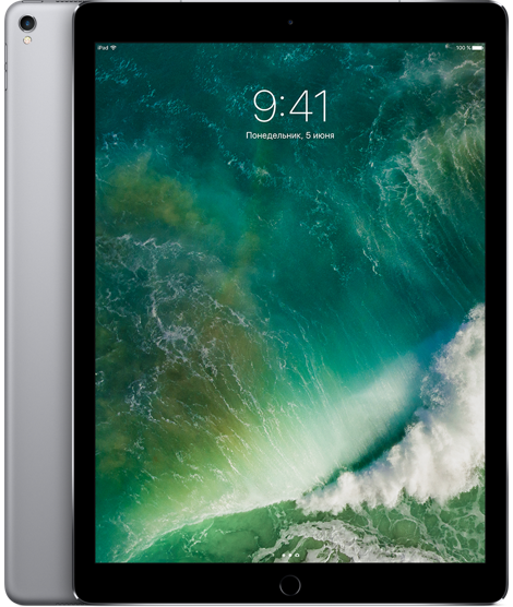 "Планшет Apple iPad Pro 12.9"" Wi-Fi 64Gb Space Grey (Серый космос)"