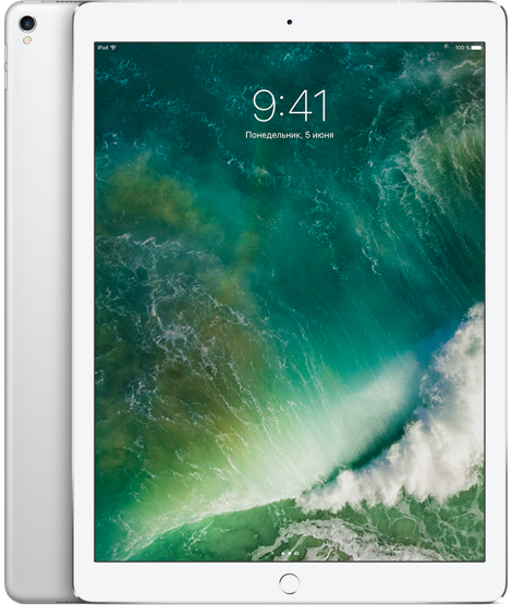 "Планшет Apple iPad Pro 12.9"" Wi-Fi 64Gb Silver (серебристый)"