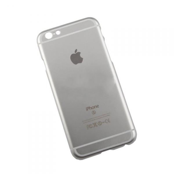 """Чехол клип-кейс """"Имитация задней части""""  для iPhone 6/6S (серебристая)"""