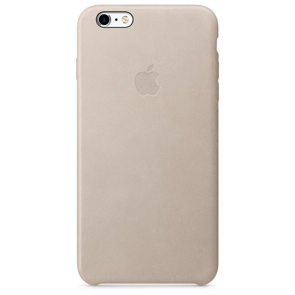Кожаный чехол для iPhone 6s Plus – телесный