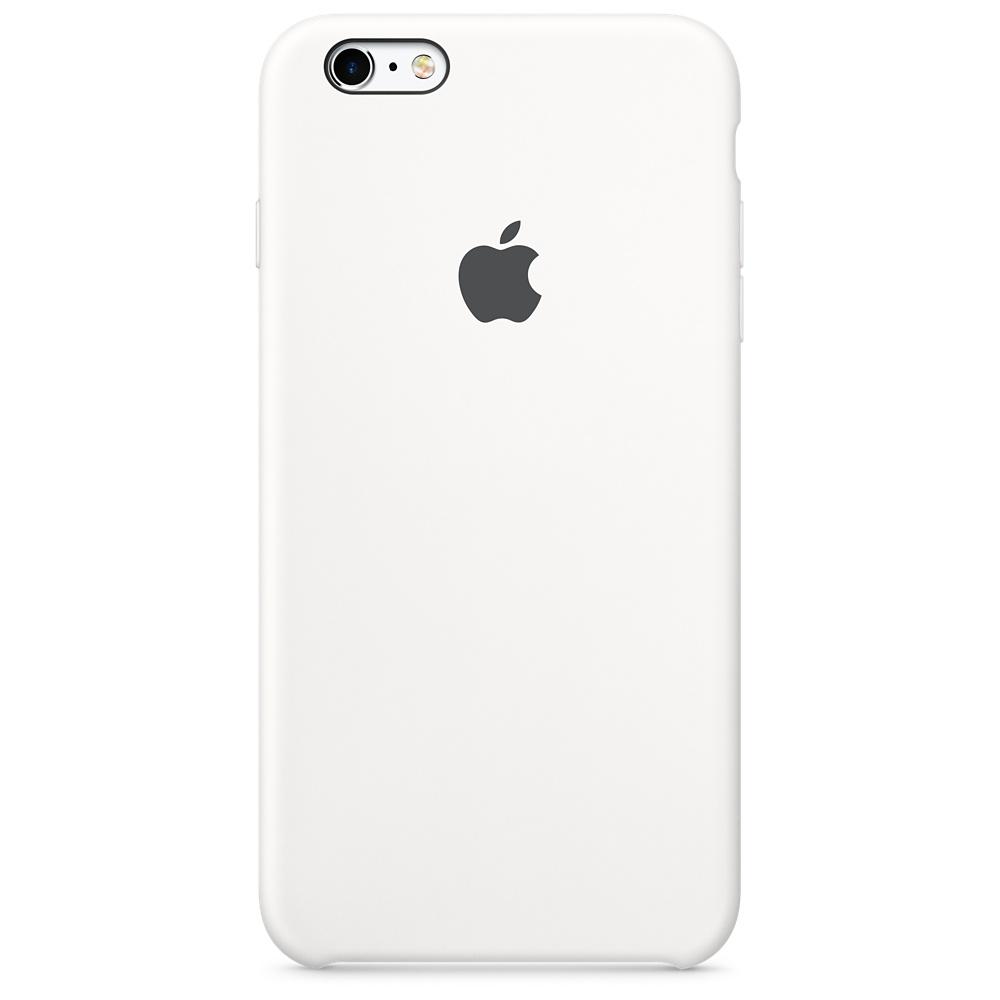 Силиконовый чехол для iPhone 6s Plus – белый
