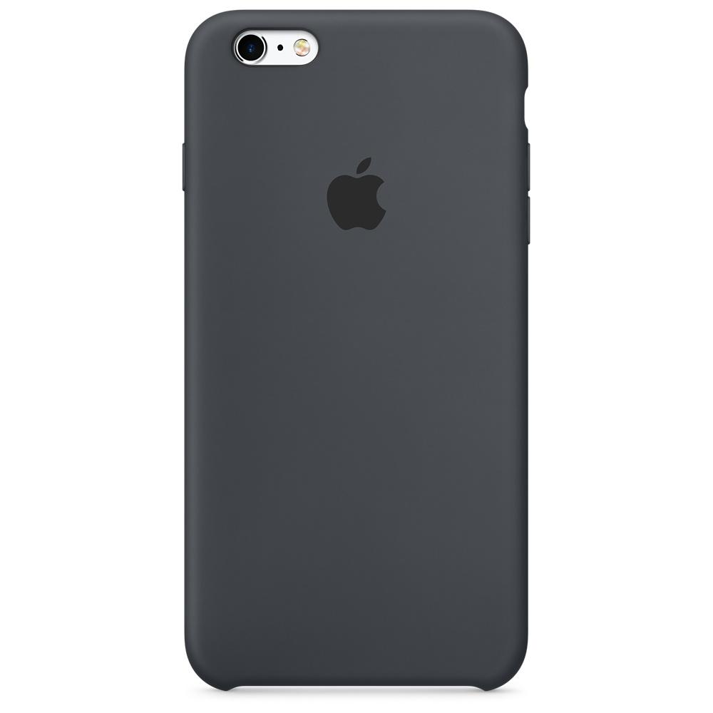 Силиконовый чехол для iPhone 6s Plus – угольно-серый