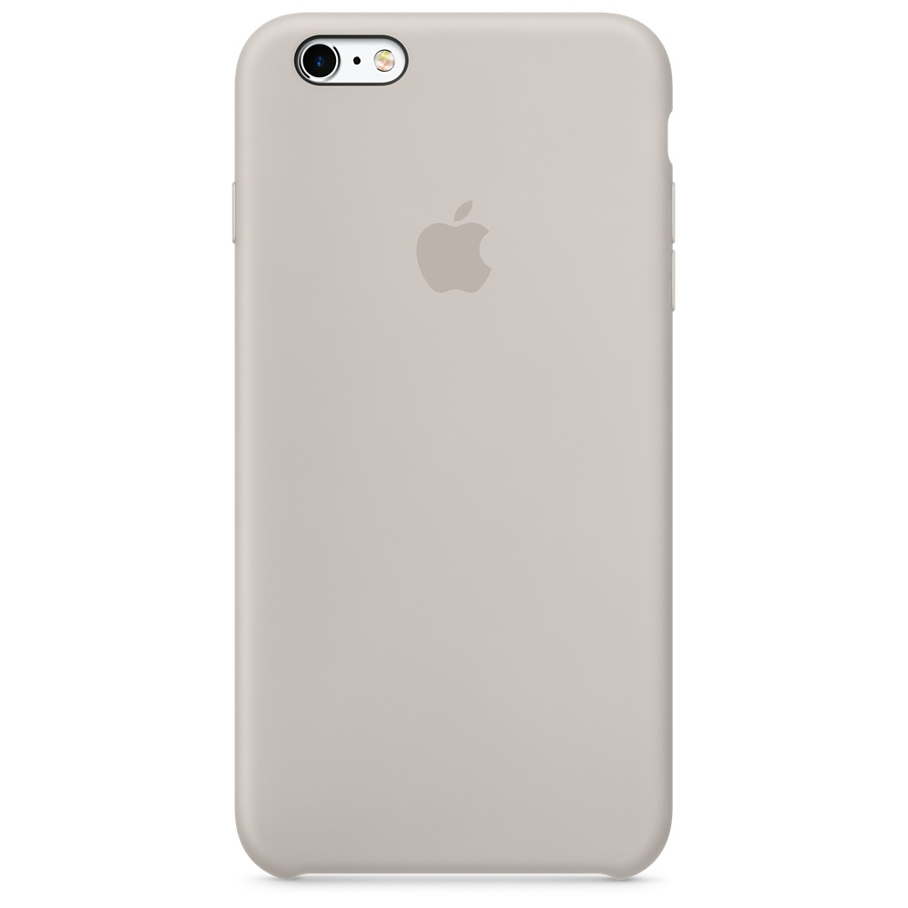 Силиконовый чехол для iPhone 6s Plus – бежевый