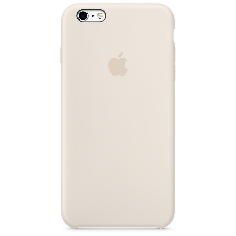 Силиконовый чехол для iPhone 6s Plus – мраморно-белый