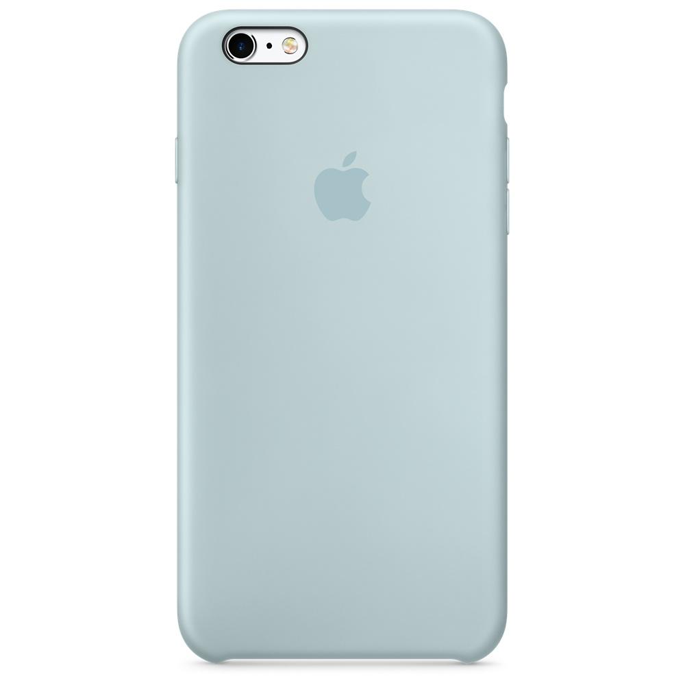 Силиконовый чехол для iPhone 6s Plus – бирюзовый