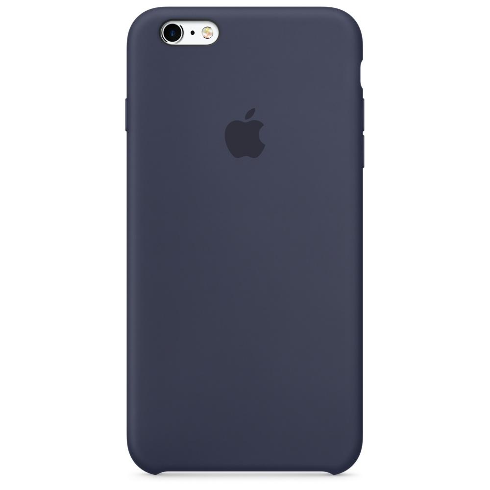 Силиконовый чехол для iPhone 6s Plus – тёмно-синий