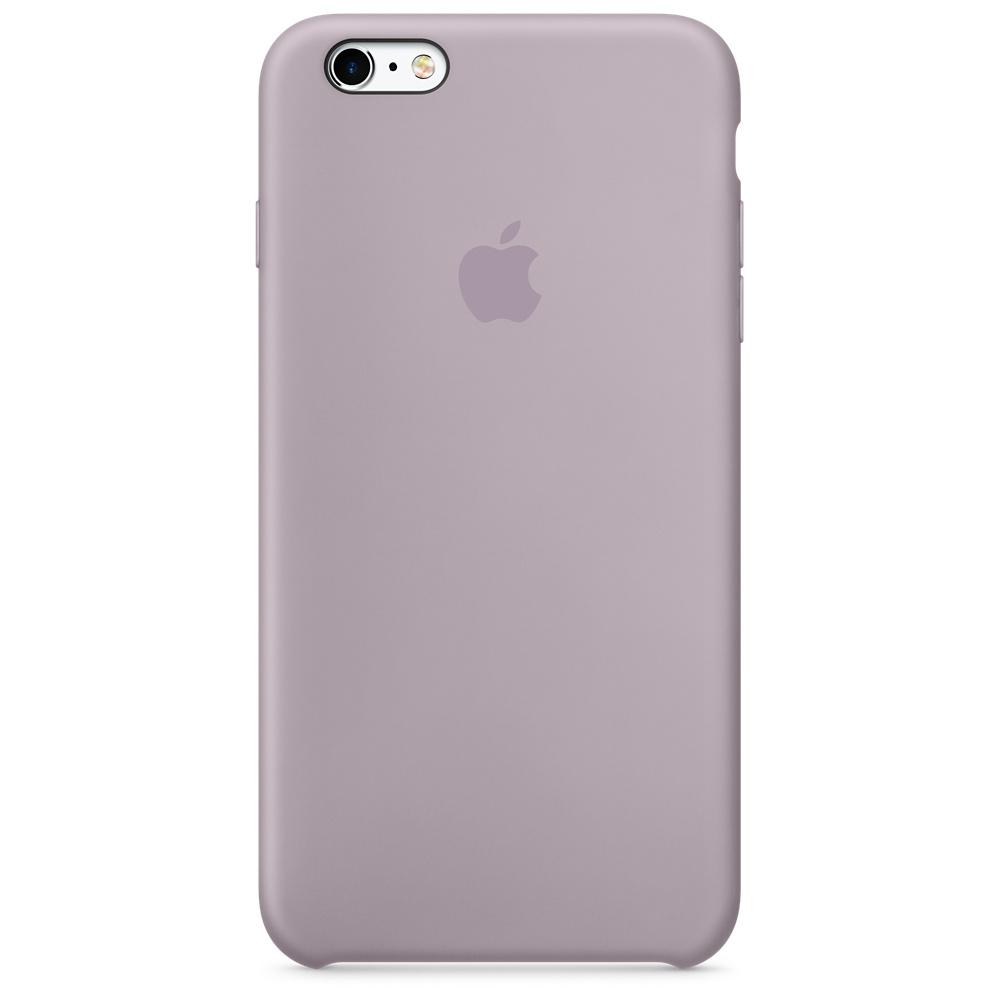 Силиконовый чехол для iPhone 6s Plus – сиреневый