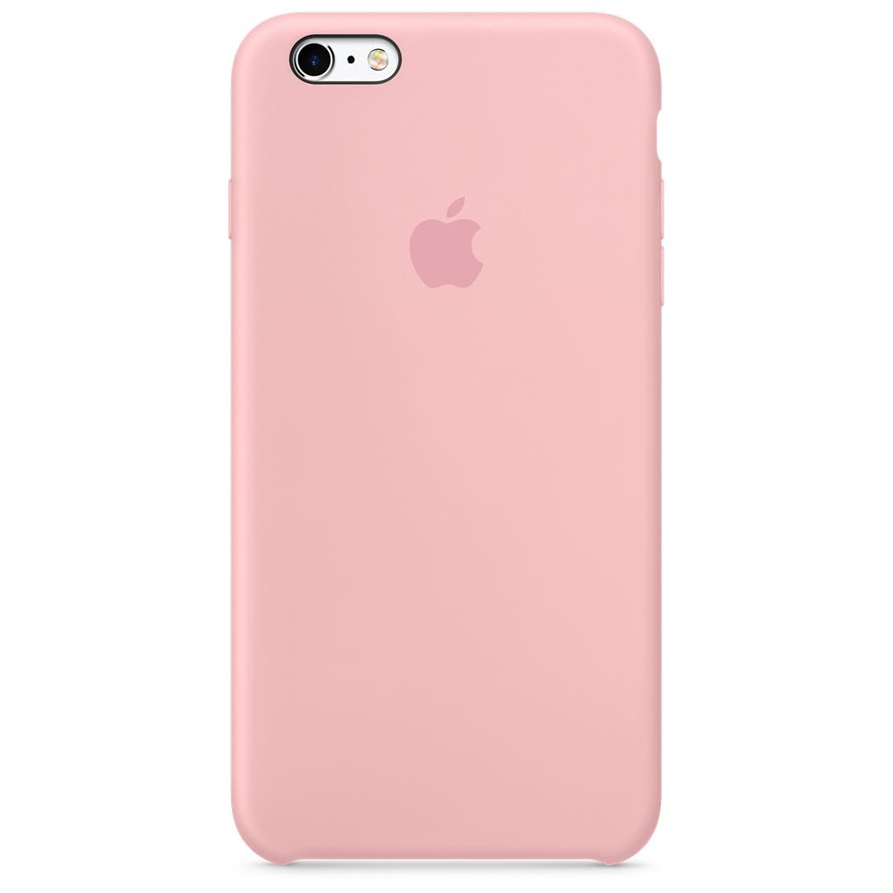 Силиконовый чехол для iPhone 6s Plus – розовый