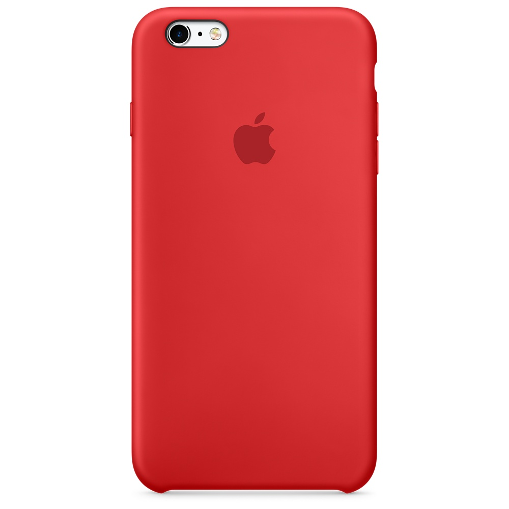 Силиконовый чехол для iPhone 6s Plus – (PRODUCT)RED