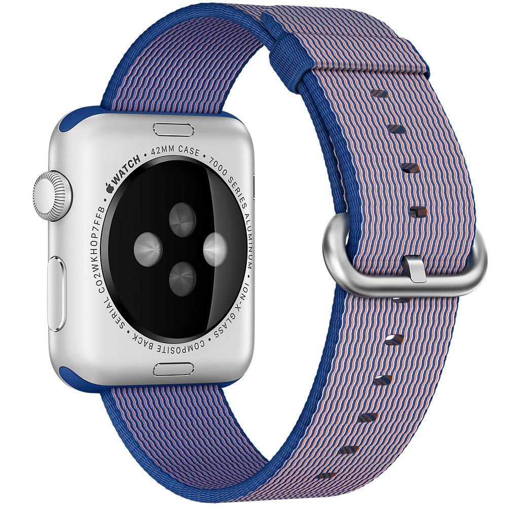 Ремешок из нейлона для Apple Watch 38мм черный (реплика)