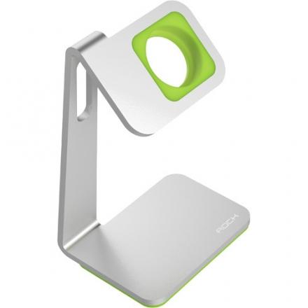 Док-станция Rock Table Stand для Apple Watch серебристый / чёрный