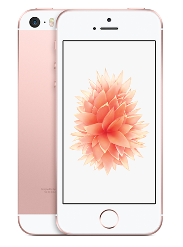 Apple iPhone SE 16GB Rose Gold (Розовое золото)