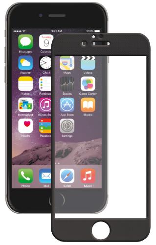 Защитное стекло для Apple iPhone 6/6S (с черной рамкой)