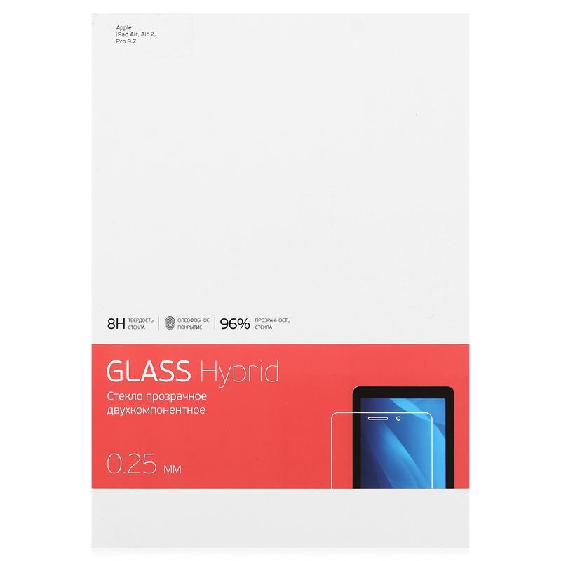 Защитное стекло Deppa Hybrid для Apple iPad Air/Air 2/Pro 9.7