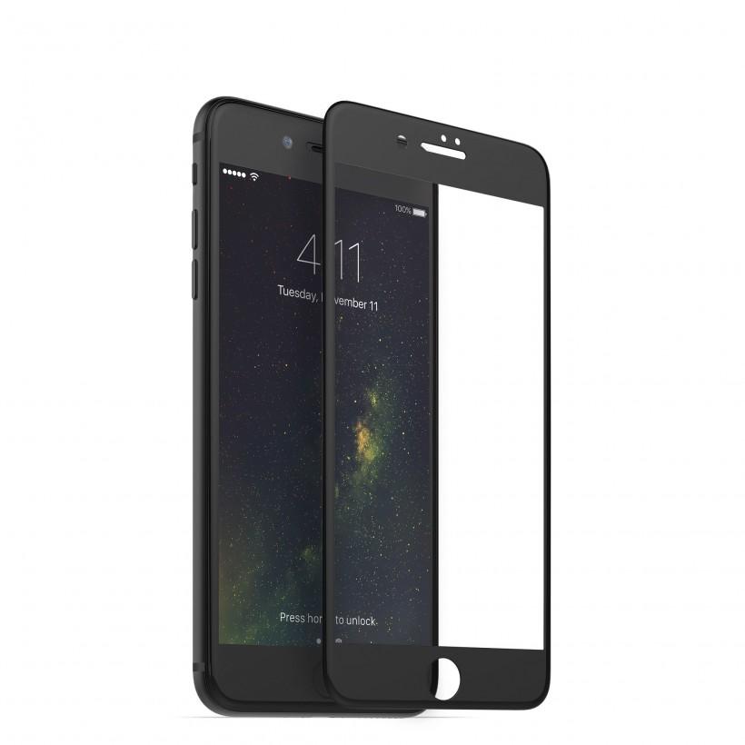 Защитное стекло Remax Tempered Glass 3D для iPhone 7/8 (черное)