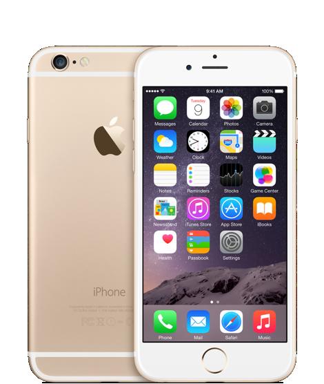 Apple iPhone 6 128GB Gold (Золотой) замена брака