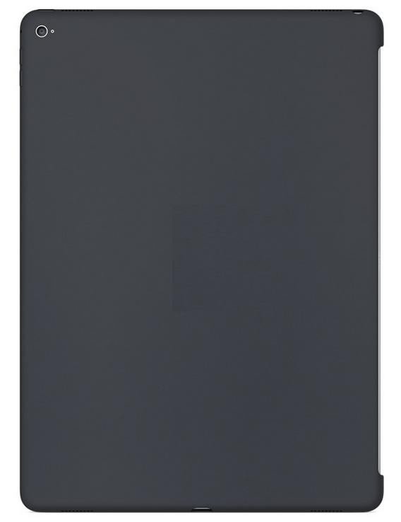 """Силиконовый чехол для iPad Pro — Тёмно-серый 12.9"""""""