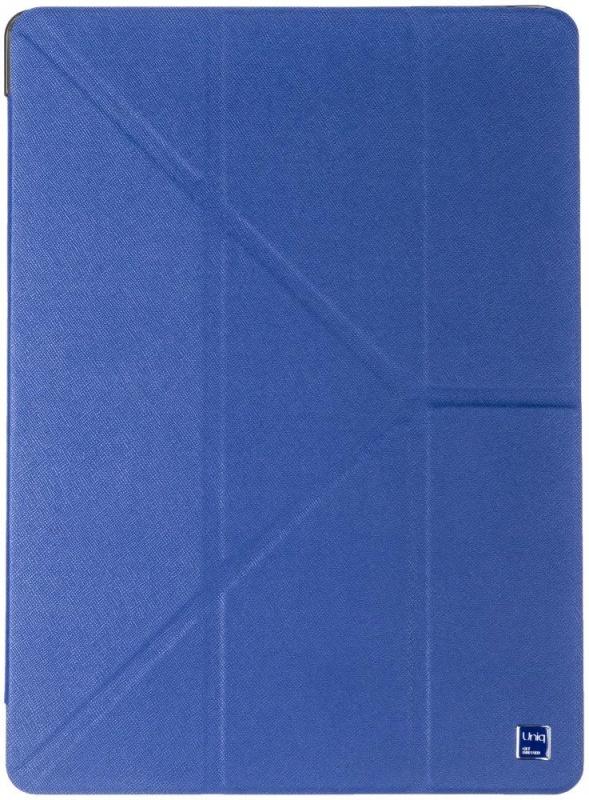 Чехол-книжка Uniq Y-Fold Yorker для iPad Pro 12.9 (синий)