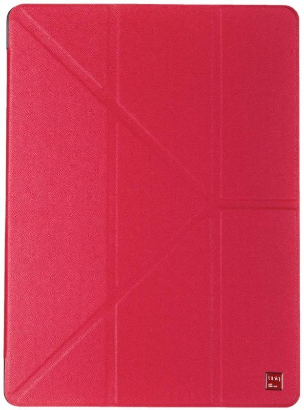 Чехол-книжка Uniq Y-Fold Yorker для iPad Pro 12.9 (красный)