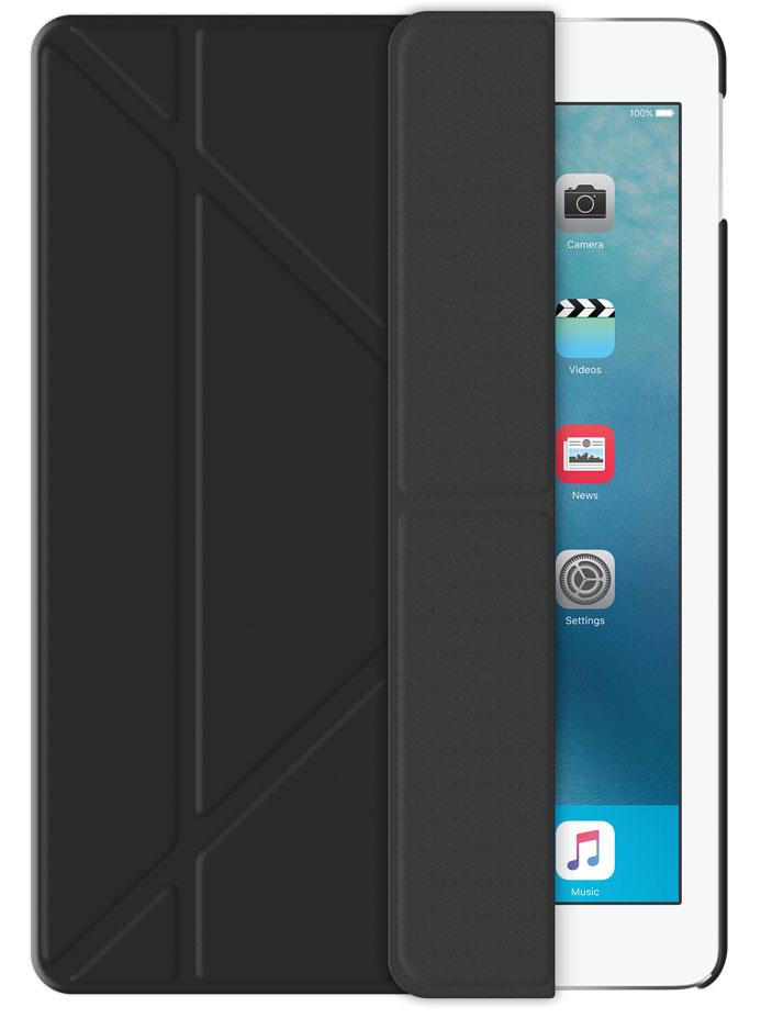 "Чехол-книжка подставка Deppa Wallet Onzo для iPad Pro 9.7"" (Черный)"