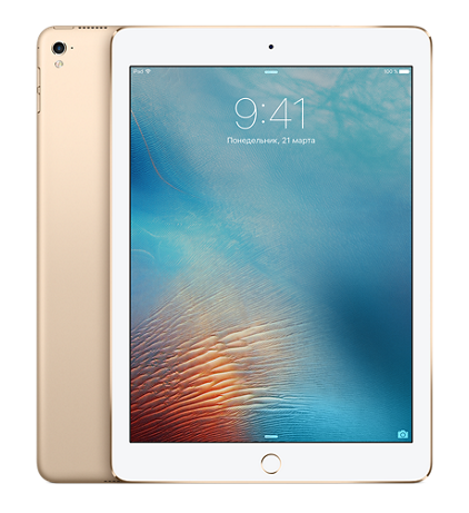 "Планшет Apple iPad Pro 9.7"" Wi-Fi + 4G (Cellular) 128GB Gold (Золотой)"