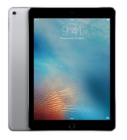 "Планшет Apple iPad Pro 9.7"" Wi-Fi + 4G (Cellular) 256GB Space Gray (Черный)"