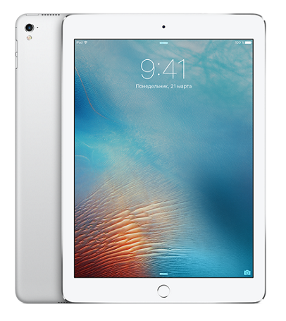 "Планшет Apple iPad Pro 9.7"" Wi-Fi + 4G (Cellular) 256GB Silver (Серебристый)"