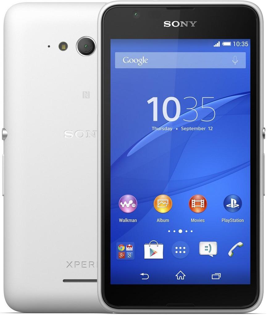 Смартфон Sony Xperia E4g White