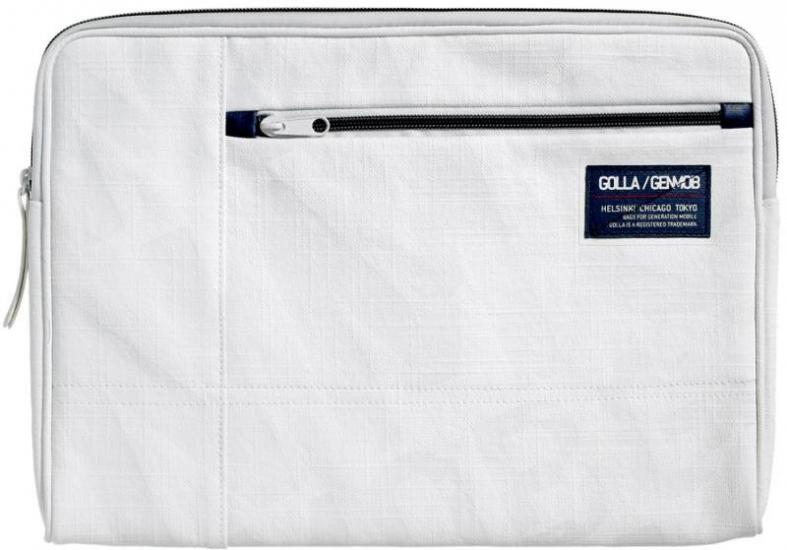"""Чехол-сумка Golla Sydney G1312  white  для  MacBook 13"""" Air (белая)"""