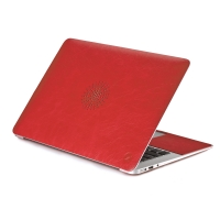 Чехол накладка Cozistyle Leather Skin Red для Macbook Air 11