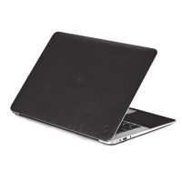 Чехол-наклейка Сozistyle Leather Skin Black для MacBook 11