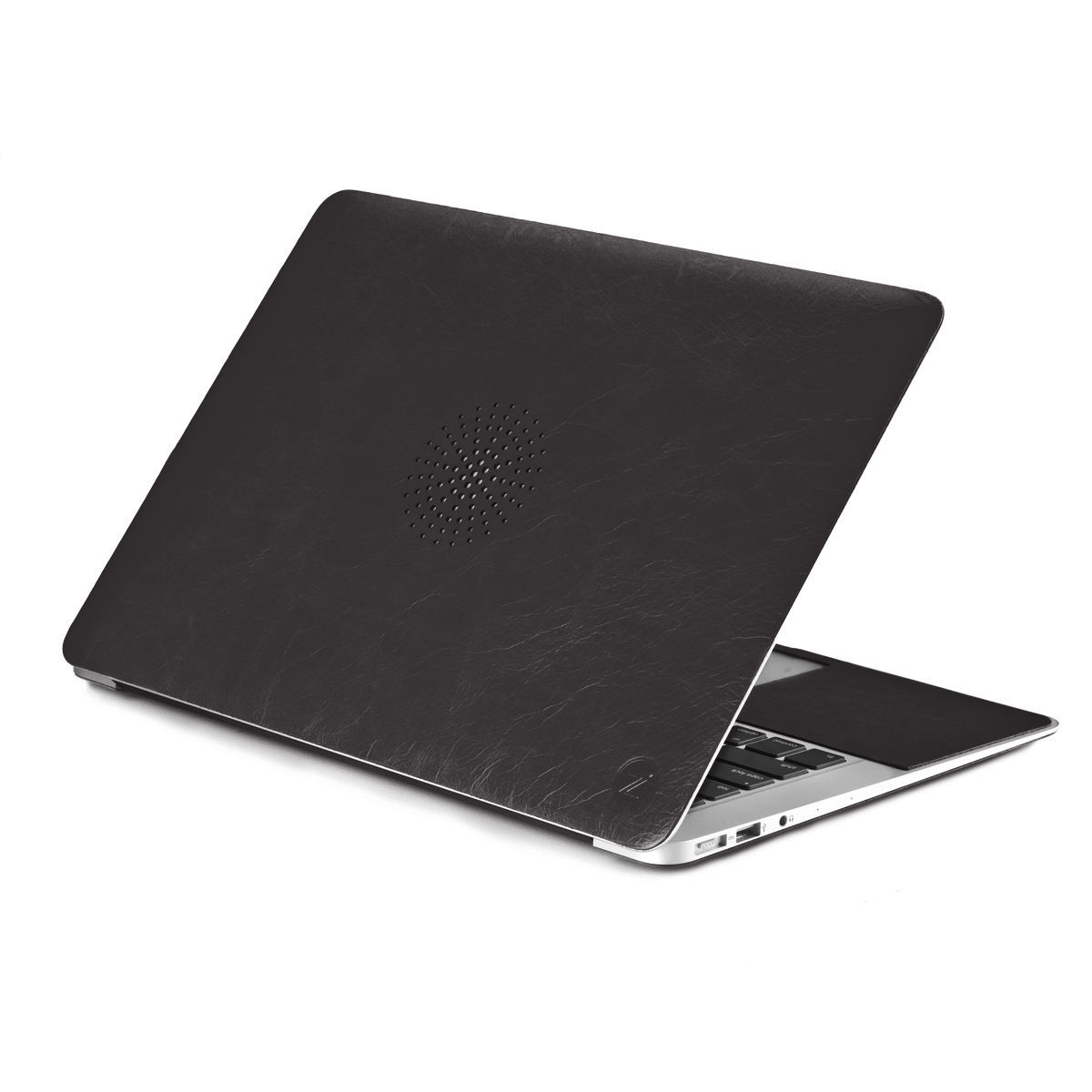 """Чехол-наклейка Сozistyle Leather Skin Black для MacBook 11"""" Air (черная)"""