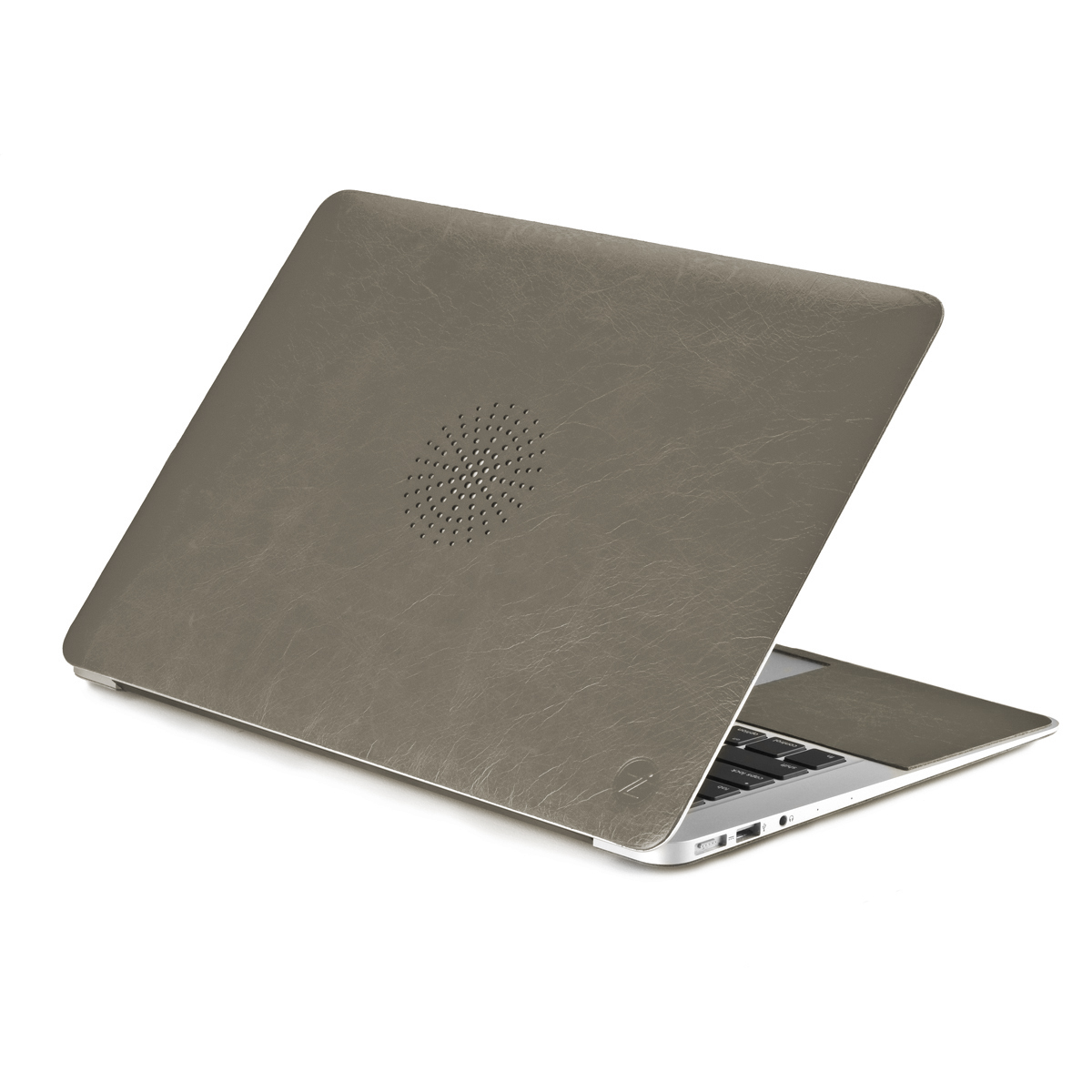 Чехол-наклейка Cozistyle Leather Skin Gray для MacBook 11
