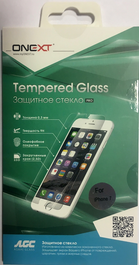 Защитное стекло Apple Onext для iPhone 7/8