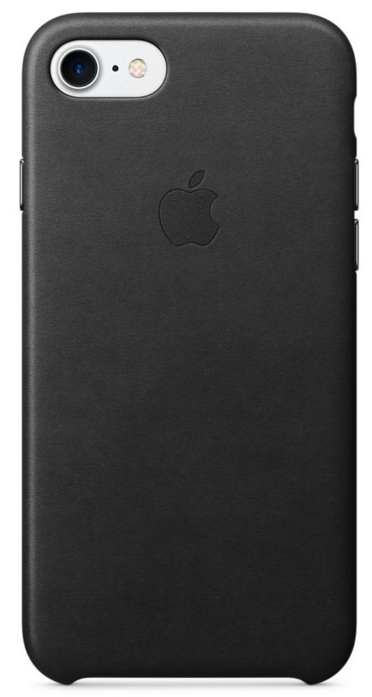 Клип-кейс Apple кожаный для iPhone 7 чёрный (MMY52ZM/A)