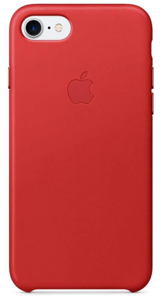 Чехол клип-кейс Apple  кожаный  для iPhone 7  ((PRODUCT)RED красный)