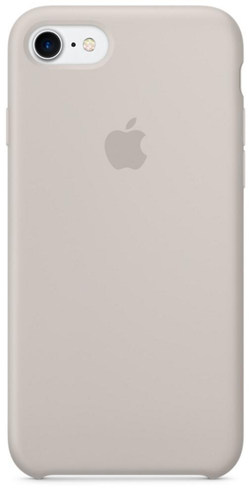 Чехол клип-кейс Apple силиконовый для iPhone 7 (бежевый цвет)