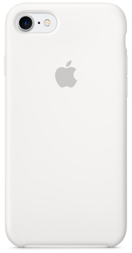 Чехол клип-кейс Apple силиконовый для iPhone 7 (белый цвет)