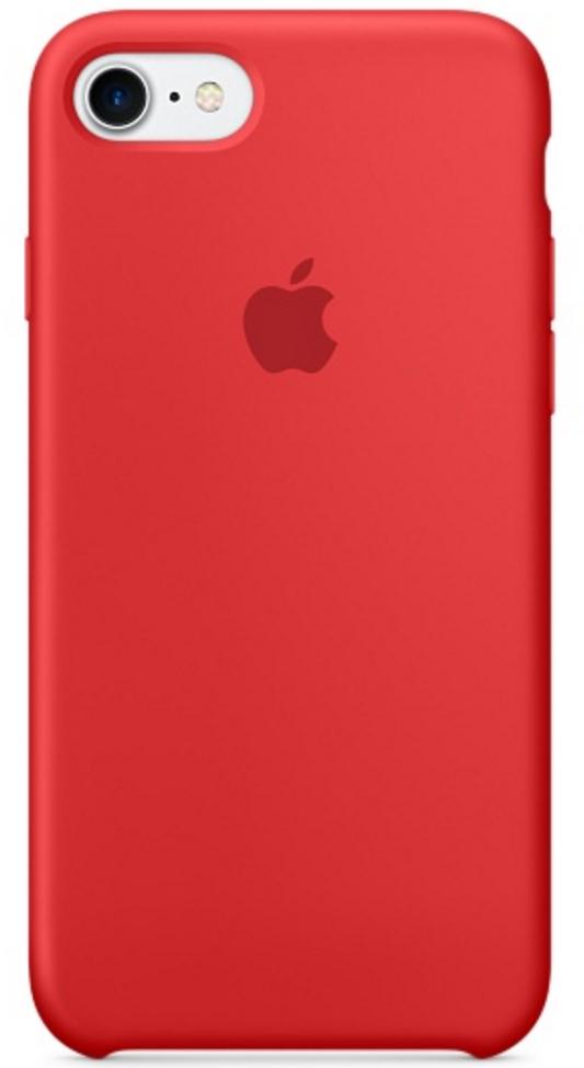 Чехол клип-кейс Apple силиконовый для iPhone 7 ((PRODUCT)RED - красный)