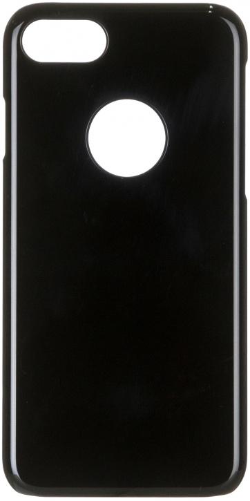 Чехол клип-кейс iCover Glossy для Apple iPhone 7 (черный)