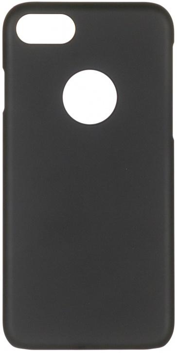 Чехол клип-кейс iCover Rubber для Apple iPhone 7 (черный, матовый)