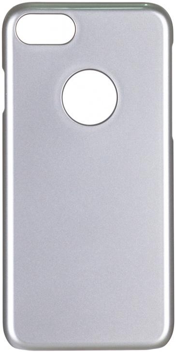 Чехол клип-кейс iCover Glossy для Apple iPhone 7 (серебристый, глянцевый)