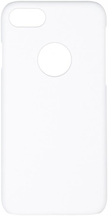 Чехол клип-кейс iCover Rubber для Apple iPhone 7 (белый, матовый)
