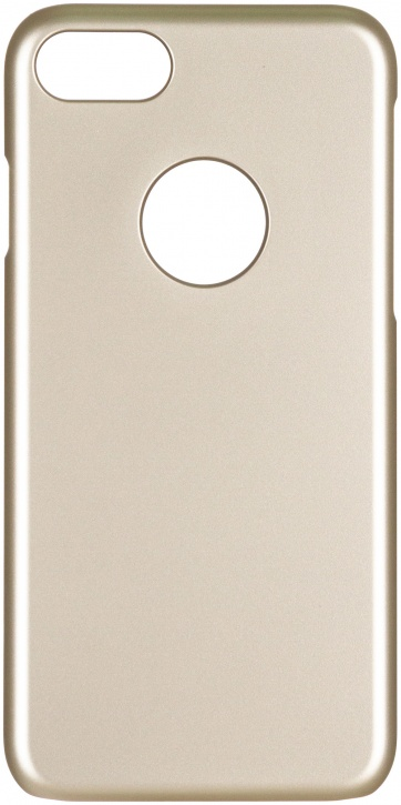 Чехолъклип-кейс iCover Rubber для Apple iPhone 7 (золотистый, матовый)