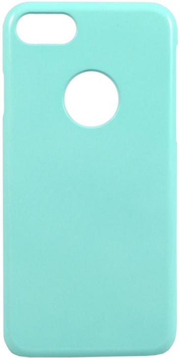 Чехол клип-кейс iCover Rubber для Apple iPhone 7/8 (голубой, матовый)