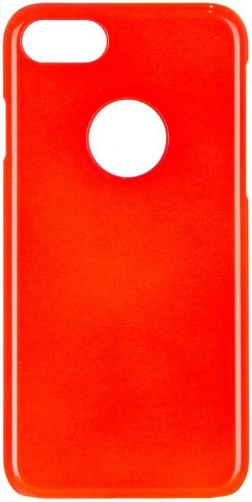 Чехол клип-кейс iCover Glossy для Apple iPhone 7 (оранжевый,глянцевый)