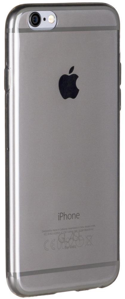 Чехол клип-кейс Uniq Glase 0.3 mm для Apple iPhone 7 (прозрачный/серый)